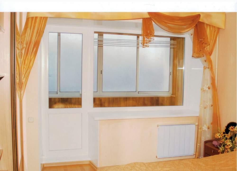 Балконный блок - гаражные ворота от производителЯ по минимал.